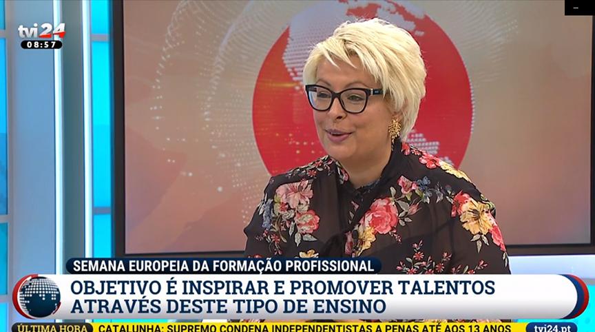 Administradora do Grupo ENSINUS em entrevista à TVI 24